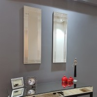 NEOstill - 2'li Dekoratif Duvar Salon Ofis Ayna A402b