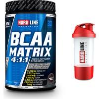 Hardline Bcaa Matrix 630 Gr + Shaker