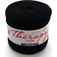 Therapy Yarn 2022 Siyah Penye İp