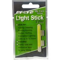 Effe Light Stick Fosfor Fitilli 6Mm Çiftli Yellow