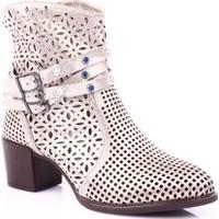 Mamma Mia D19Ya-4510 Kadın Günlük Ayakkabı Bej Sedef