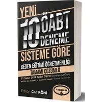 Yediiklim Yayınları Öabt Beden Eğitimi Öğretmenliği Tamamı Çözümlü 10 Deneme - Komisyon
