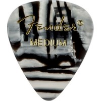 Fender 351 Shape Graphic Picks Zebra - Medium - 1 Adet Pena