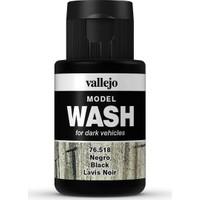 Vallejo 76518 Model Wash Black 35 Ml