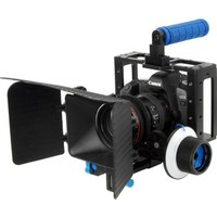 Dslr İçin Camera Cage + Follow Focus + Matte Box