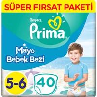 Prima Mayo Bebek Bezi 5 Beden Junior Fırsat Paketi 40 Adet
