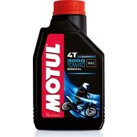 Motul 3000 10W40 Mineral Motosiklet Yağı 1 lt (Üretim Tarihi:2019)