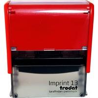 Trodat Imprint 13 Kişiye Özel Firma Ve Şirket Kaşeleri Baskı Rengi Kırmızı