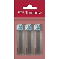 Tombow Leader S.Lead 0.7 Mm Poly Bag(3Pc) 2B Uç