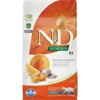 N&D Pumpkin Tahılsız Balık&Portakal Yetişkin Kedi Maması 1,5 kg