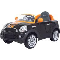 RollPlay Mini Cooper Uzaktan Kumandalı Akülü Araba 12 V- Siyah