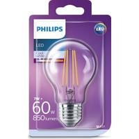Philips LED Classic 60W A60 E27 Non-Dim 4000K Gün Işığı Filament Ampul