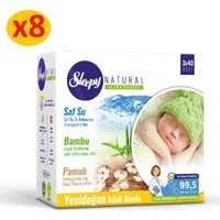 Sleepy Natural Yenidoğan Islak Pamuklu Bambu Havlu 24x40 (960 Yaprak)