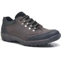 Dropland Kahve Hakiki Deri Kışlık Erkek Trekking Ayakkabısı