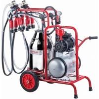 Kurtsan Çift Sağım Yağlı Pompalı Süt Sağım Makinesi 40 Litre