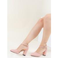 Fox Shoes Pudra Kadın Topuklu Ayakkabı F404110102