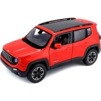 Maisto Jeep Renegade 1:24 Model Araba Kırmızı