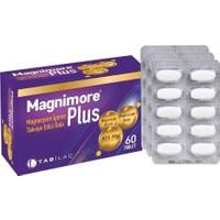 Magnimore Plus Magnezyum İçeren Takviye Edici Gıda 60 Tablet