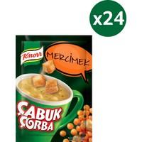 Knorr Çabuk Çorba Serisi Mercimek Çorbası 24'lü Paket