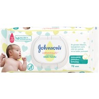 Johnson's Baby Islak Mendil Cotton Touch Yenidoğan 72'li