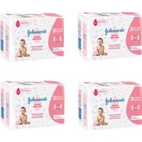 Johnsons Baby Islak Mendil 3x72 li 4 Paket 864 Yaprak