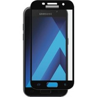 VPW Samsung Galaxy A7 2017 (Ön) 5D Full Siyah Nano Premium Dayanıklı Ekran Koruyucu