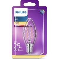 Philips LED Classic 25W ST35 E14 Non-Dim 2700K Led Filament Ampul