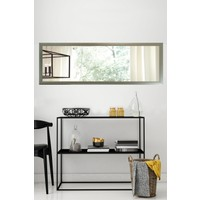 Tablo Center 37x97cm Gümüş Çerçeveli Yatay Ayna
