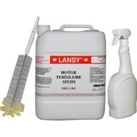 Lansy Motor Temizleme Sıvısı 5 kg + Sprey Ve Fırça