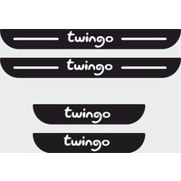 Appcity Renault Twingo Plastik Kapı Eşiği