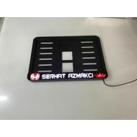 Appcity Kişiye Özel Işıklı Motorsiklet Plakalık