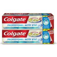 Colgate Diş Macunu Total Profesyonel Aktif Etki 75 ml x 2 Paket