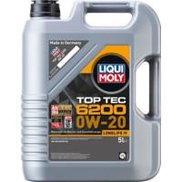 Liqui Moly 0W20 Motor Yağı Top Tec 6200 5 Litre (20789)