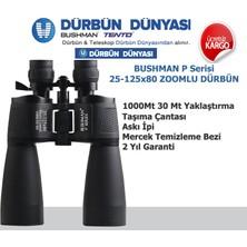 Bushman P25-125x80 Zoomlu Dürbün