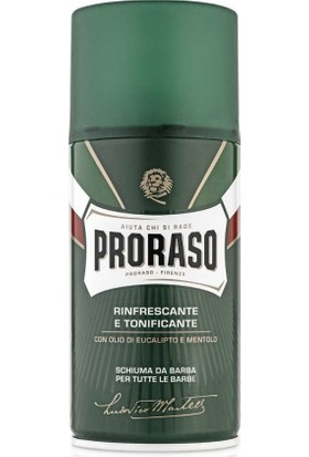 Proraso Okaliptüs Yağı ve Mentollü Tıraş Köpüğü 300 ml
