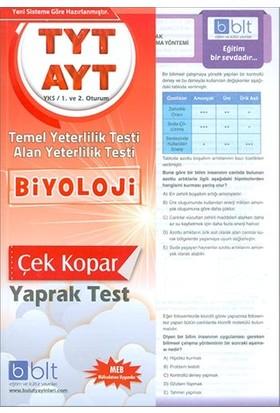 Bulut Eğitim TYT AYT Biyoloji Çek Kopar Yaprak Test