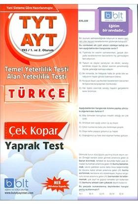 Bulut Eğitim TYT AYT Türkçe Çek Kopar Yaprak Test