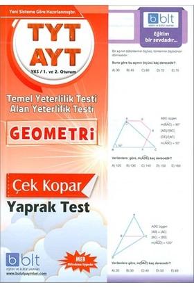 Bulut Eğitim TYT AYT Geometri Çek Kopar Yaprak Test