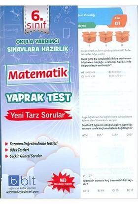 Bulut Eğitim 6. Sınıf Matematik Çek Kopar Yaprak Test