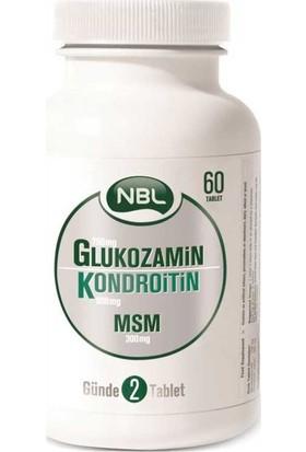 NBL Glukozamin Kondroitin MSM 60 Tablet