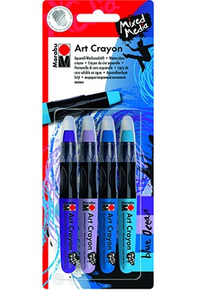 Marabu Sanatsal Mum Boyasi Blue Ocean Set