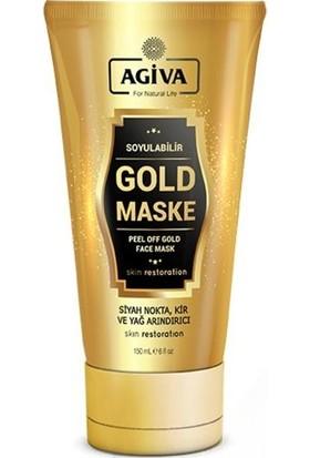Agiva Soyulabilir Gold Maske