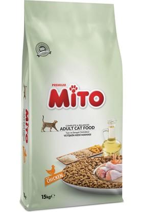 Mito Adult Cat Tavuklu Yetişkin Kedi Maması - 15 kg