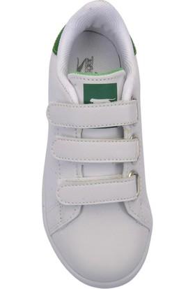 Slazenger Fuat Spor Çocuk Ayakkabı Beyaz / Yeşil
