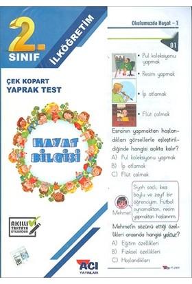Açı 2. Sınıf Hayat Bilgisi Çek Kopart Yaprak Test