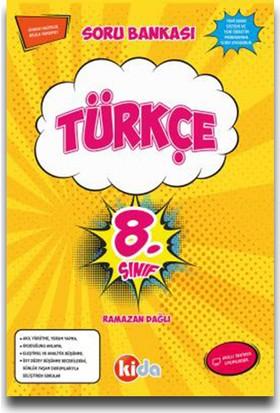 Kida 8. Sınıf Türkçe Soru Bankası