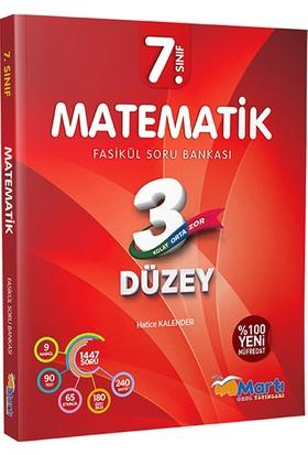 Martı 7. Sınıf Matematik 3 Düzey Fasikül Soru Bankası