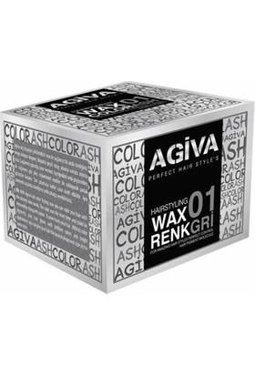 Agiva Hairstyling Wax 01 gri - 120 gr
