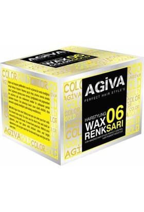 Agiva Hairstyling Wax 06 Sarı - 120 gr