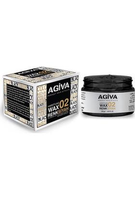 Agiva Hairstyling Wax 02 Siyah - 120 gr